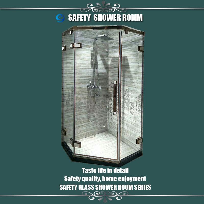 cabine și prețul oțelului inoxidabil cadru prefabricate închise cutia din turcia uşă mai bun modular duşuri