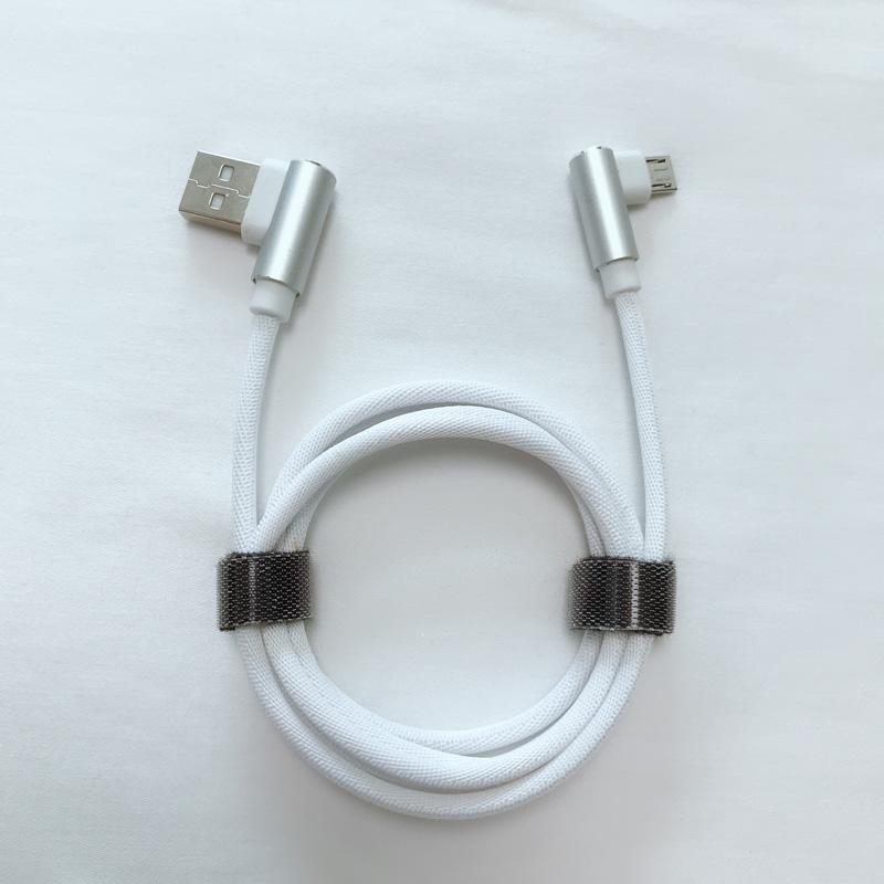 Cablu de date USB pentru micro USB, tip C, încărcare cu fulger de la iPhone și sincronizare