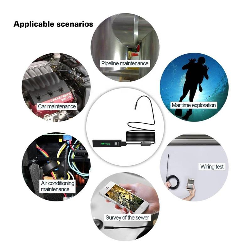 Endoscop industrial Wifi
