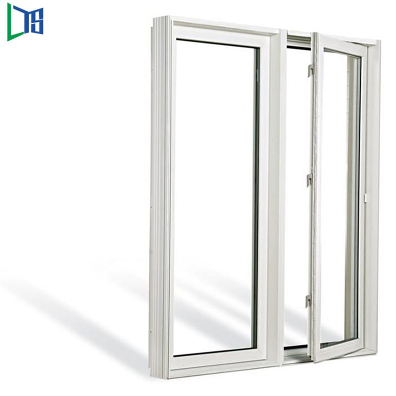 Ferestre cu balansoar din aluminiu cu geamuri acoperite cu pulbere finisate cu geam dublu