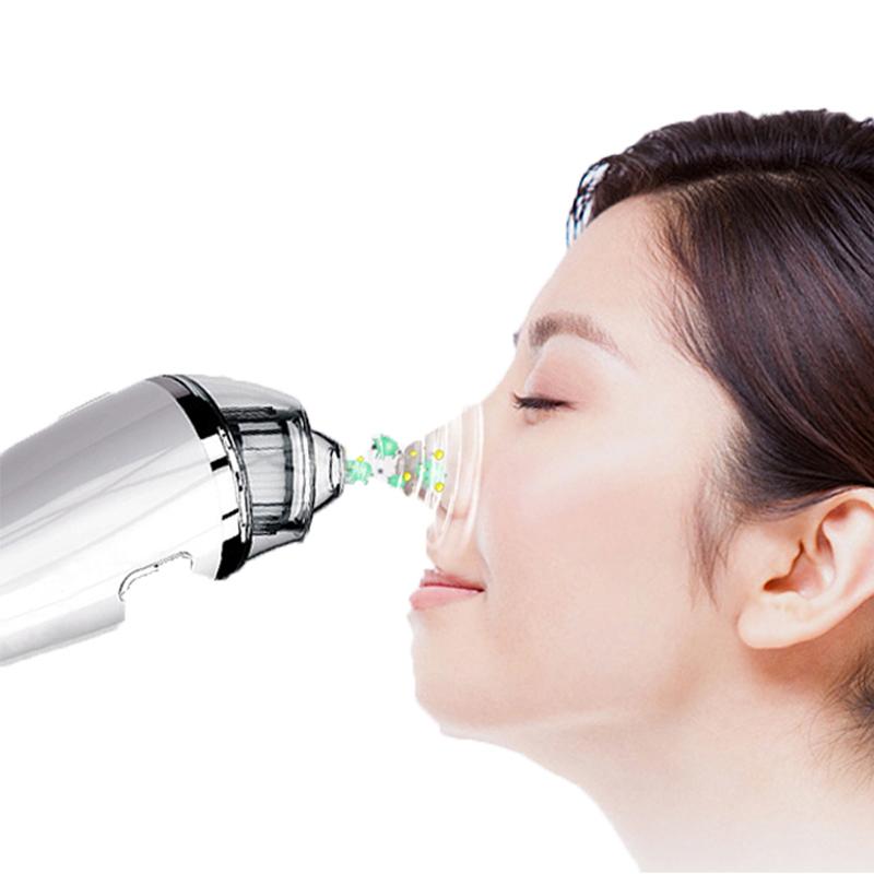 Blackhead Remover Vacuum - Purificator de curățare electrică a aspiratorului Blackhead faciale instrument de extracție a acneei pentru femei și bărbați