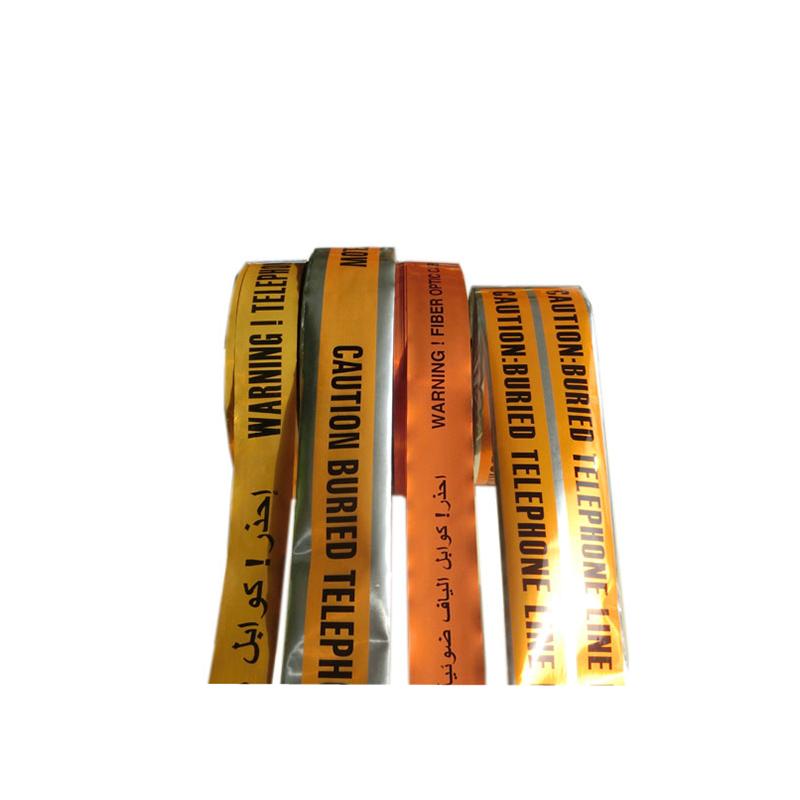 Producător de înaltă calitate pe bucată de baricadă din PVC, detectabil subteran, avertizare prin cablu, folie de aluminiu
