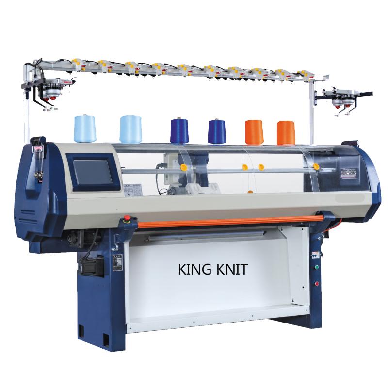 Calculatorul automat de tricotat plat: