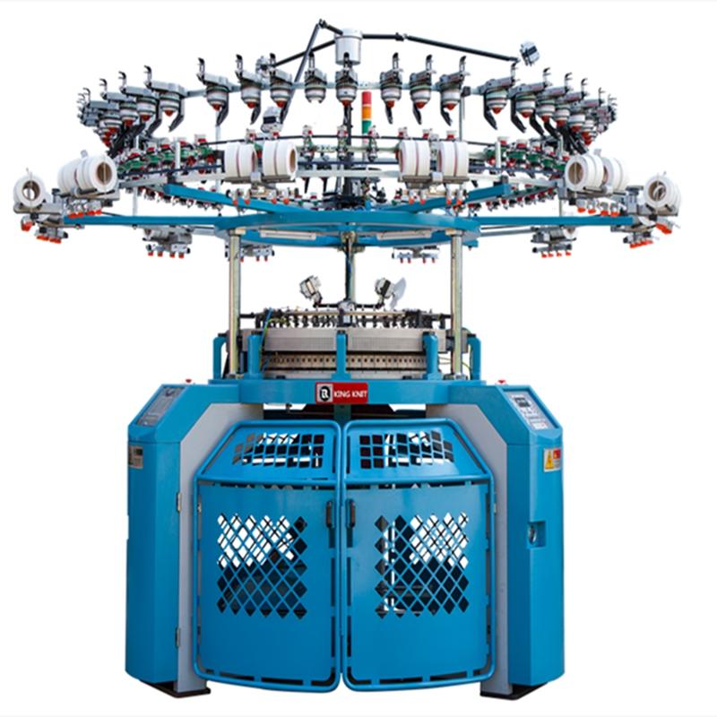 Mașină de tricotat circular multifuncțională KC-S803