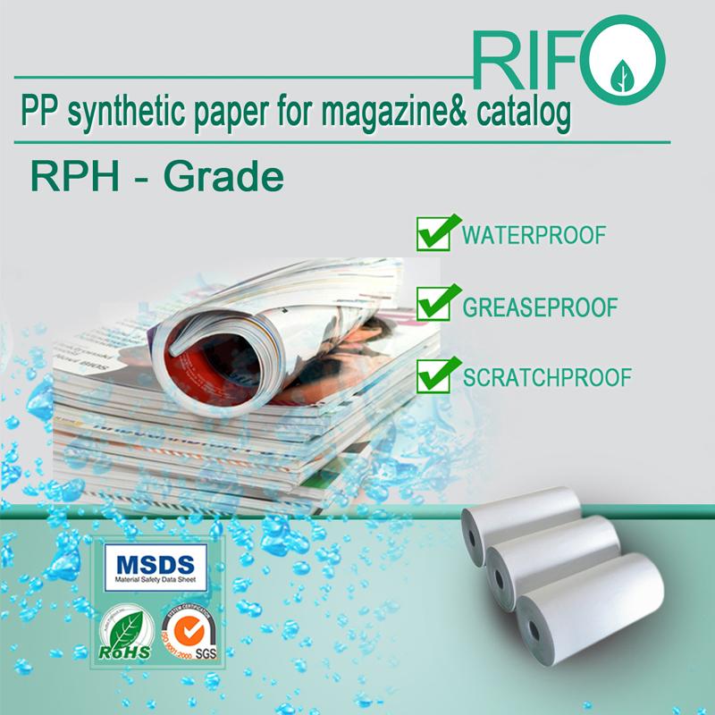 PP fundalul de hârtie sintetică al invenției