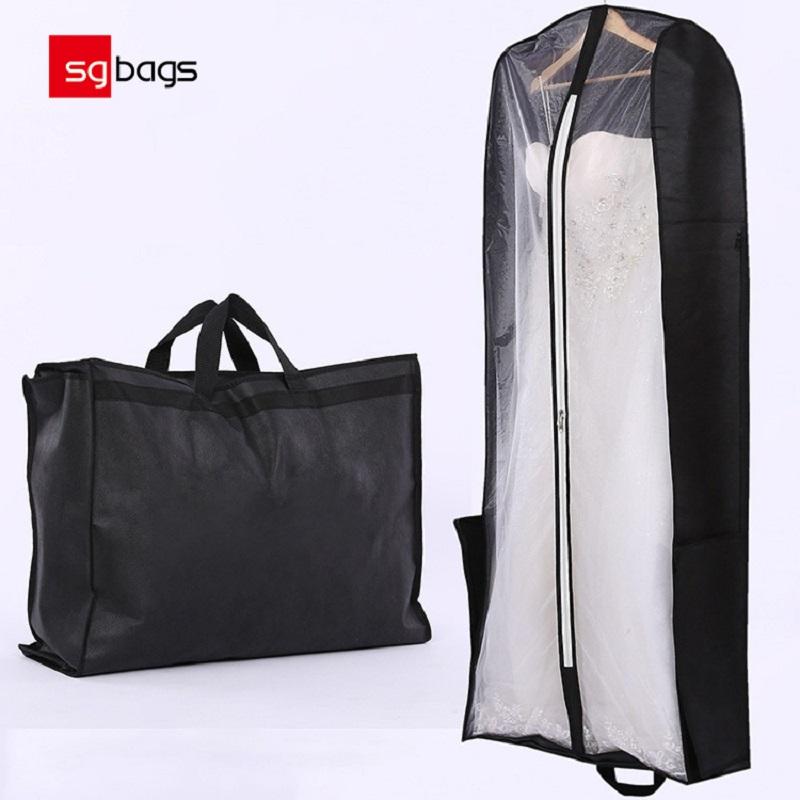Geanta de mireasa personalizata cu ridicata, cu praf de geanta de mireasa