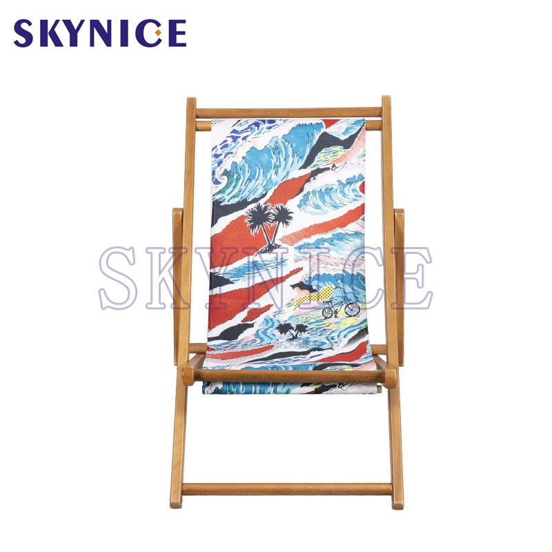 Scaun pliant din lemn pentru copii